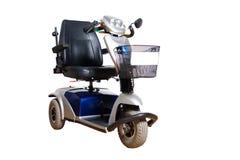 Sedia a rotelle motorizzata per la gente eliminabile Fotografie Stock