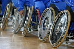 Sedia a rotelle nuovi 2 Fotografie Stock
