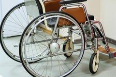Sedia a rotelle in ospedale fotografia stock libera da diritti