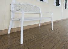 Sedia sul terrazzo Fotografia Stock