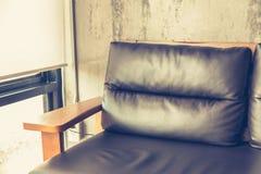 Sedia vicino (effetto d'annata elaborato immagine filtrato ) immagine stock libera da diritti