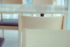 Sedia vuota con il tono morbido Fotografia Stock