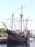 Sedicesima nave di secolo Immagine Stock Libera da Diritti