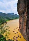 Montagna di Longhu della Cina Immagine Stock