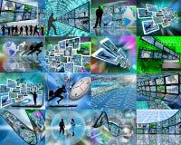 Sedici immagini Immagini Stock Libere da Diritti