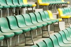 Sedie allo stadio di football americano a Schang-Hai Immagine Stock Libera da Diritti