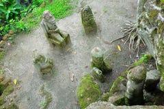 Sedie della pietra di Ambarita, lago Toba, Indonesia Fotografia Stock Libera da Diritti
