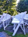 Sedie di nozze Fotografia Stock Libera da Diritti