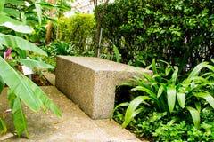 Sedie di svago nel giardino Fotografie Stock Libere da Diritti