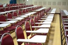 Sedie per gli studenti Immagine Stock Libera da Diritti