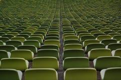 Sedie spettatori Fotografia Stock Libera da Diritti