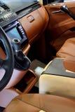 Sedile anteriore e regolatore del veicolo di affari fotografia stock