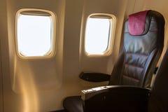Sedile dell'aeroplano Fotografia Stock Libera da Diritti