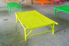 Sedile di bambù Immagini Stock Libere da Diritti