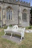 Sedile di banco grazioso Fotografie Stock