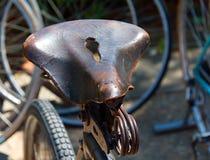 Sedile di bicicletta 7756 Immagine Stock