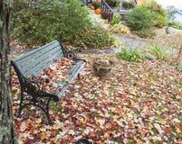Sedile di giardino Fotografia Stock