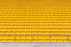 Sedile giallo Fotografia Stock