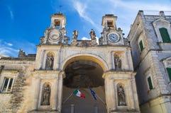 Sedile Palace. Matera. Basilicata. Italy. Royalty Free Stock Images