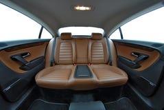 Sedile posteriore Fotografie Stock