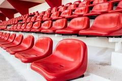 Sedile rosso Fotografia Stock