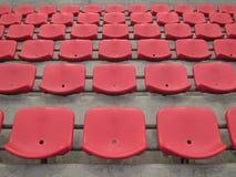 Sedile rosso Immagini Stock