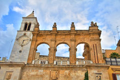 Sedile slott _ Puglia italy royaltyfri bild