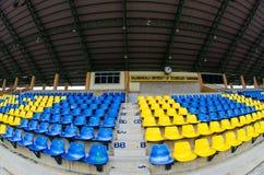 Sedile vuoto dello stadio Fotografie Stock