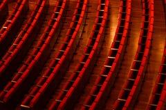 Sedili del teatro fotografia stock