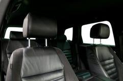 Sedili di cuoio dell'automobile Immagine Stock Libera da Diritti