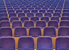 Sedili di spettatori Immagini Stock