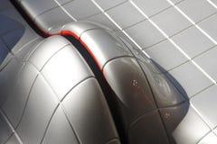 Sedili futuristici del metallo Fotografia Stock