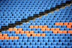 Sedili olimpici della tribuna Fotografie Stock