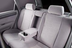 Sedili posteriori dell'automobile interni Fotografie Stock