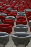 Sedili sullo stadio Fotografia Stock Libera da Diritti