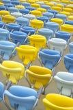 Sedili variopinti dello stadio di football americano di Maracana Immagine Stock Libera da Diritti