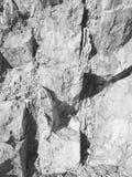 sedimentära stenar av berget Royaltyfri Foto