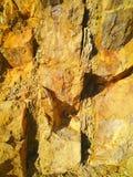 sedimentära stenar sten Royaltyfri Foto