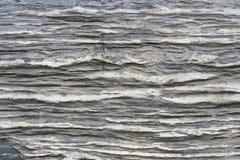 Sedimentair gesteente royalty-vrije stock afbeeldingen