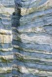 Sedimentair gesteente stock fotografie