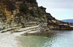 sedimentary geologi arkivbild
