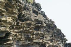 Free Sedimentary Rock At Yongmeori Coast In Jeju Island Stock Image - 54712541