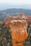 Sedimentary rock formations in bryce canyon park Stock Images