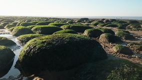 Sedimentary rock formations Royalty Free Stock Photos