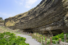 Sedimentary Rock (Pyroclastic deposit) Stock Image