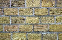 Sedimentary rock wall, fence, exterior, texture. Widely used in coastal places for build wall of house or fence, Ukraine. Sedimentary rock wall, fence, exterior Stock Photos