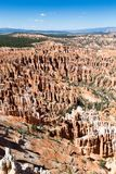 Sedimentary rocks in Bryce Canyon National Park, Utah, USA royalty free stock images