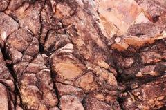 sedimentary textur f?r r?d rock r?tt lantligt stenar textur Bakgrund Natur fotografering för bildbyråer