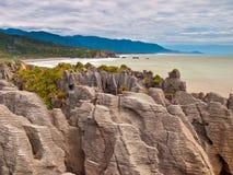 Sedimentary vaggar nyazeeländskt arkivfoto
