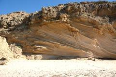 Sedimentgestein Lizenzfreies Stockbild